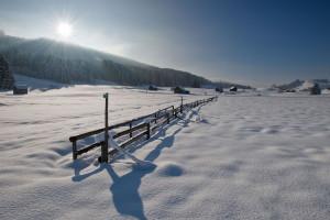 Winterlandschaft im Appenzellerland